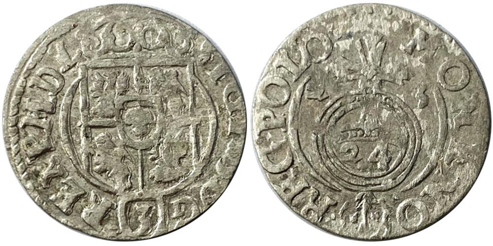 Полторак (1,5 гроша) 1623 Польша — Сигизмунд III — серебро №7