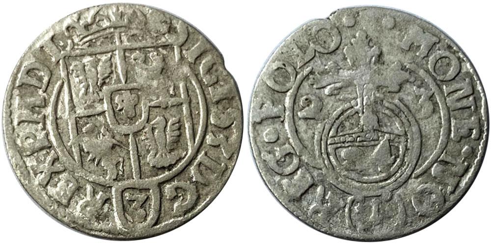 Полторак (1,5 гроша) 1623 Польша — Сигизмунд III — серебро №8