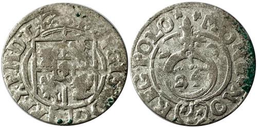Полторак (1,5 гроша) 1622 Польша — Сигизмунд III — серебро №6