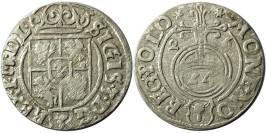 Полторак (1,5 гроша) 1626 Польша — Сигизмунд III — серебро №1
