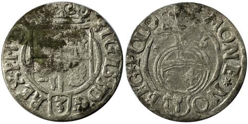 Полторак (1,5 гроша) 1626 Польша — Сигизмунд III — серебро №3
