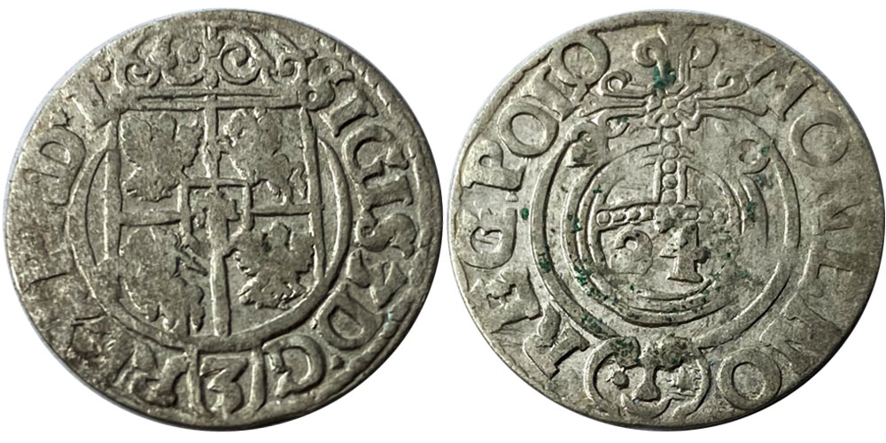 Полторак (1,5 гроша) 1620 Польша — Сигизмунд III — серебро №2