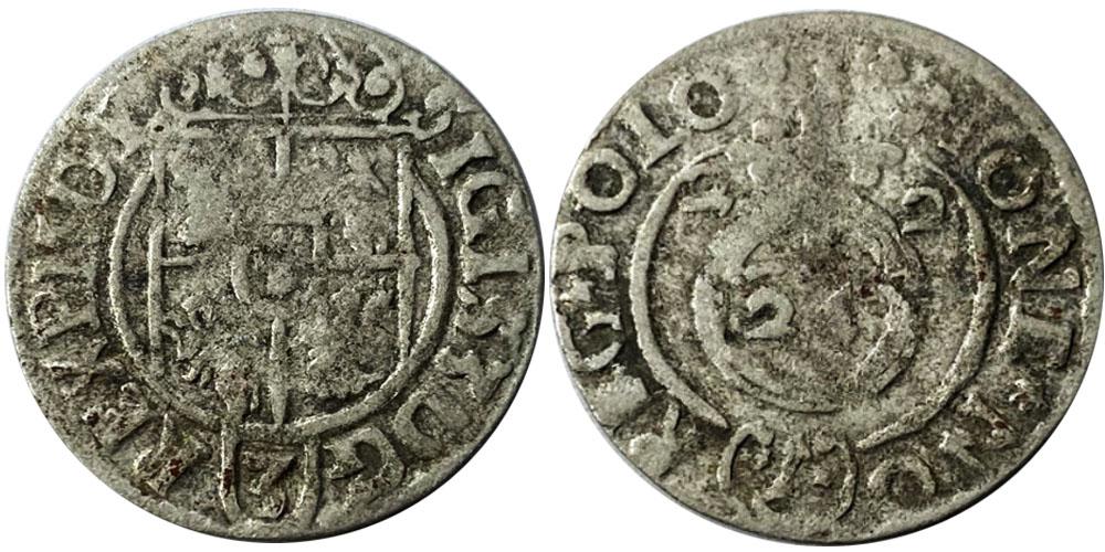 Полторак (1,5 гроша) 1622 Польша — Сигизмунд III — серебро №11