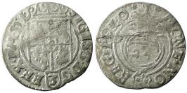 Полторак (1,5 гроша) 1623 Польша — Сигизмунд III — серебро №5