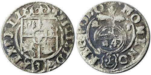Полторак (1,5 гроша) 1623 Польша — Сигизмунд III — серебро №16