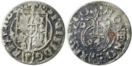 Полторак (1,5 гроша) 1624 Польша — Сигизмунд III — серебро №9