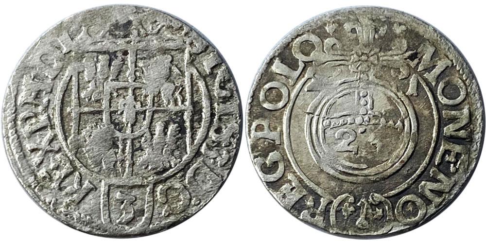 Полторак (1,5 гроша) 1621 Польша — Сигизмунд III — серебро №3