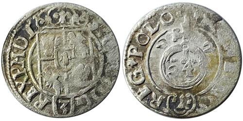 Полторак (1,5 гроша) 1622 Польша — Сигизмунд III — серебро №13