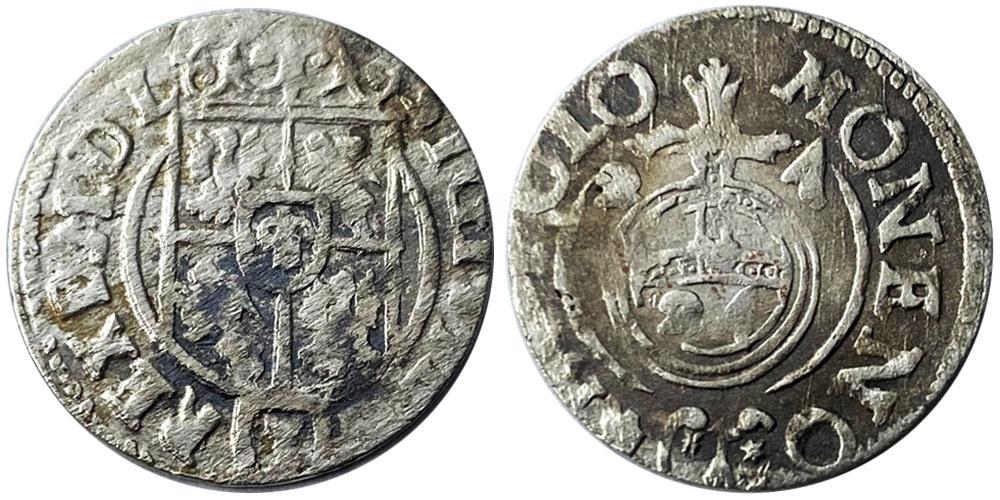 Полторак (1,5 гроша) 1624 Польша — Сигизмунд III — серебро №8