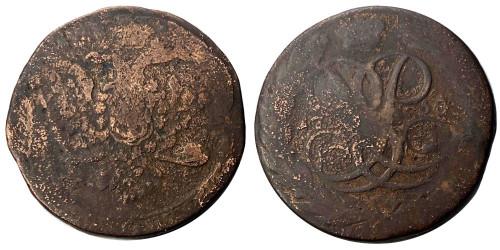 5 копеек 1758 Царская Россия — Без отметки монетного двора