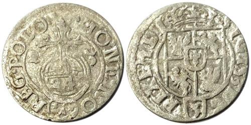 Полторак (1,5 гроша) 1623 Польша — Сигизмунд III — серебро №17
