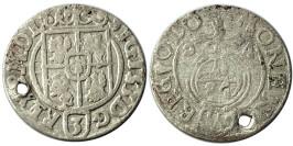 Полторак (1,5 гроша) 1624 Польша — Сигизмунд III — серебро №11