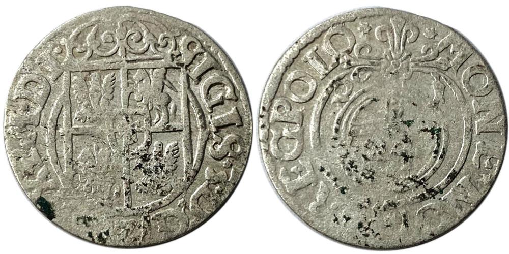 Полторак (1,5 гроша) 1621 Польша — Сигизмунд III — серебро №7