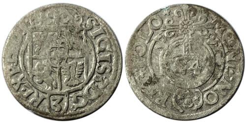 Полторак (1,5 гроша) 1622 Польша — Сигизмунд III — серебро №20