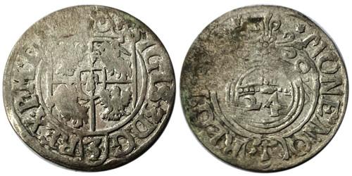 Полторак (1,5 гроша) 1620 Польша — Сигизмунд III — серебро №5