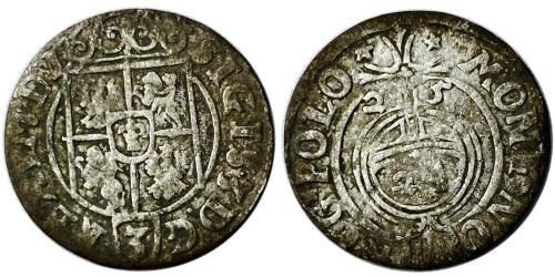 Полторак (1,5 гроша) 1625 Польша — Сигизмунд III — серебро №10
