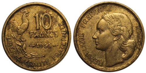 10 франков 1955 Франция