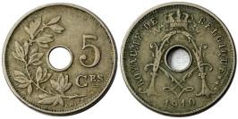 5 сантимов 1910 Бельгия (FR)