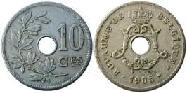 10 сантимов 1905 Бельгия (FR)