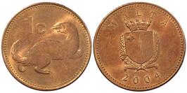 1 цент 2004 Мальта