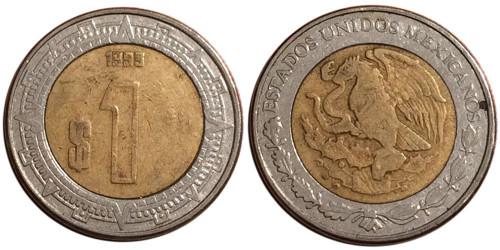 1 песо 1999 Мексика