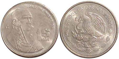 1 песо 1984 Мексика
