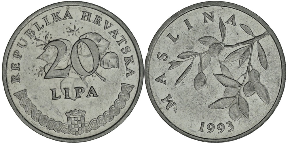 20 лип 1993 Хорватия