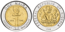 1 найра 2006 Нигерия