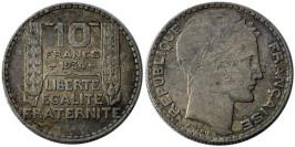 10 франков 1934 Франция — серебро №4