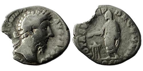 Денарий — Марк Аврелий — серебро