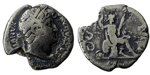 Денарий — Адриан — Рома (ROMA) — серебро