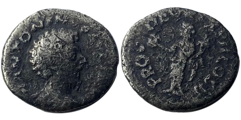 Денарий — Марк Аврелий (Провиденция) — серебро