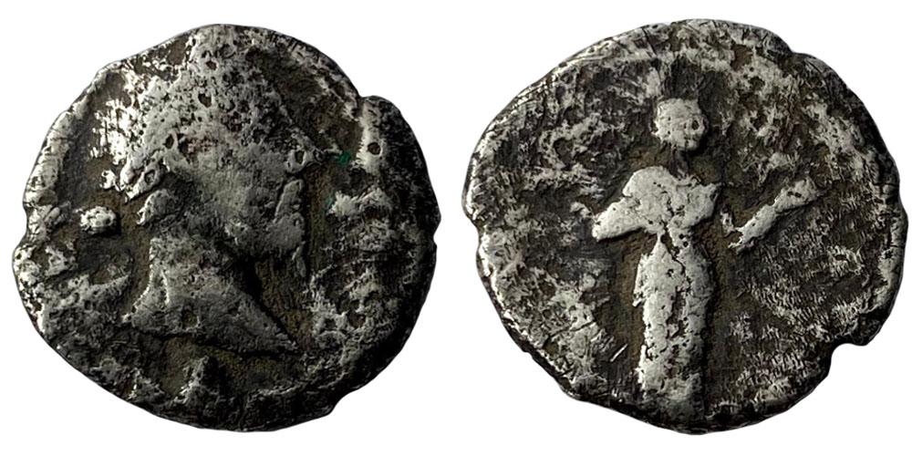 Денарий — Антонин Пий — серебро №1