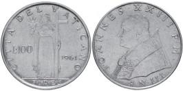 100 лир 1961 Ватикан