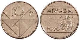 10 центов 2000 Аруба