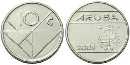 10 центов 2009 Аруба