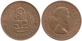 1/2 пенни 1964 Новая Зеландия