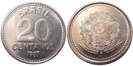 20 сентаво 1987 Бразилия