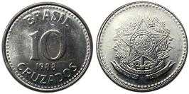 10 крузадо 1988 Бразилия