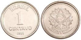 1 сентаво 1986 Бразилия