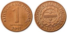 1 сентимо 2011 Филиппины UNC