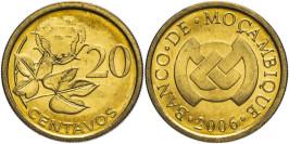 20 сентаво 2006 Мозамбик