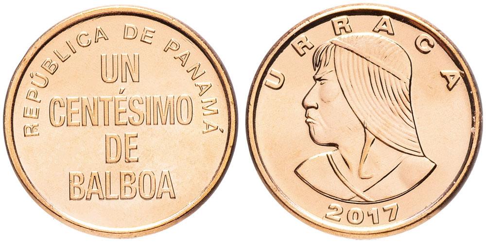 1 сентесимо 2017 Панама UNC