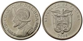 1/4 бальбоа 2008 Панама UNC