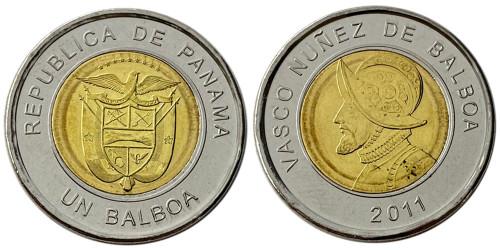1 бальбоа 2011 Панама UNC