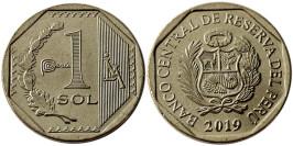 1 соль 2019 Перу UNC