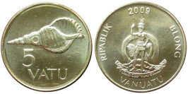 5 вату 2009 Вануату