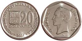 20 боливаров 2004 Венесуэла UNC