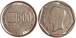 500 боливар 2004 Венесуэла UNC