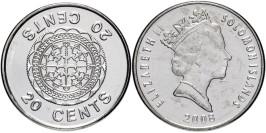 20 центов 2008 Соломоновы острова UNC